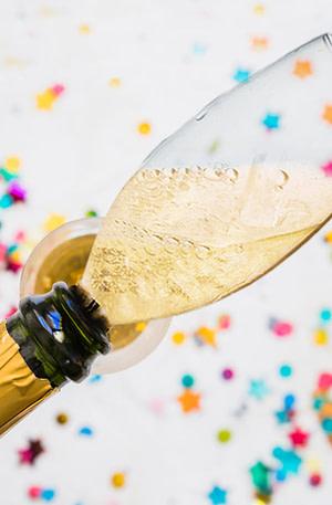 BULCK - Nr. 1 cadeau website | Champagnefles Glas