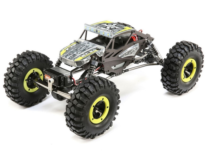 ECX Temper Gen 2 4WD Rock Crawler RTR - Geel