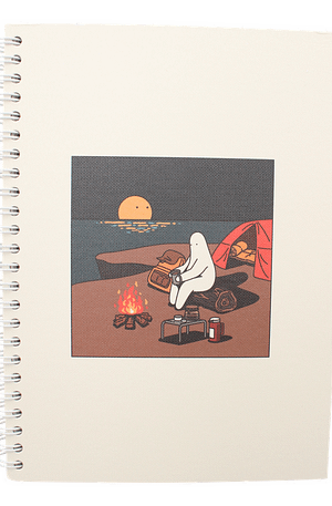 Bulck | De nr. 1 cadeau website | Mr.Donothing Mr.Donothing notebook - Camping