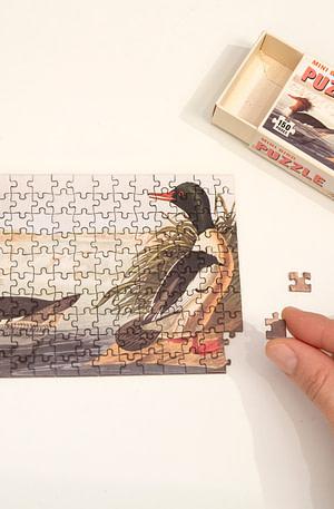Vogels Mini Puzzel 150 Stukjes Van Kikkerland - Kikkerland