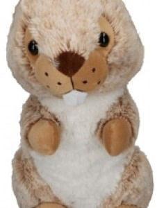Eddy Toys knuffel otter beige 27 cm