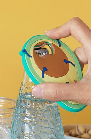 Magnetische Avocado Flesopener - Balvi