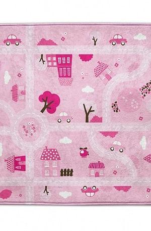House of Kids verkeerskleed ultrazacht 130 x 180 cm roze