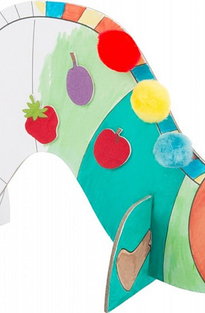 Small Foot Rupsje Nooitgenoeg knutselset 3D figuren