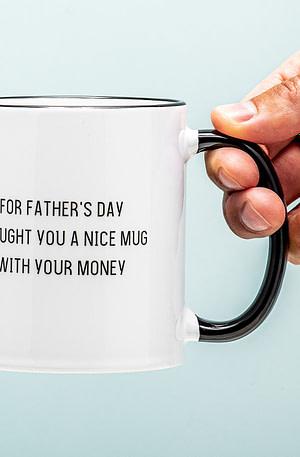 Your Money Vaderdag Mok - Nutcrackers