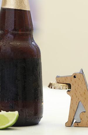 Hond Flesopener - Kikkerland