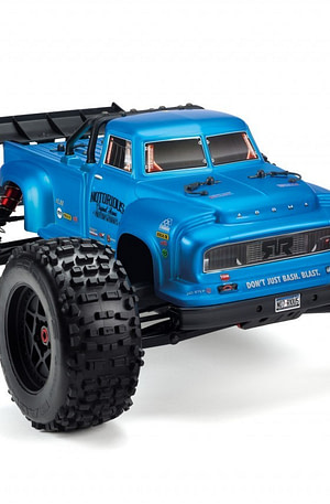 Arrma Notorious 6S BLX Classic Stunt Truck RTR - Blauw