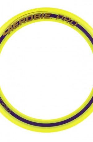Aerobie frisbee Pro Ring geel 33cm