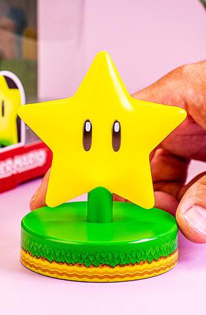 Nintendo Super Mario Super Star Lampje