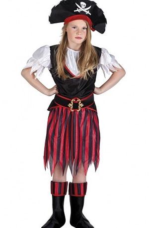 Boland St. kinderkostuum piraat Annie maat 152/164
