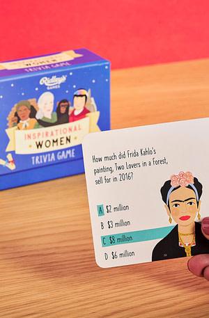Ridley'S Games Inspirational Women Quiz - Wild&Wolf