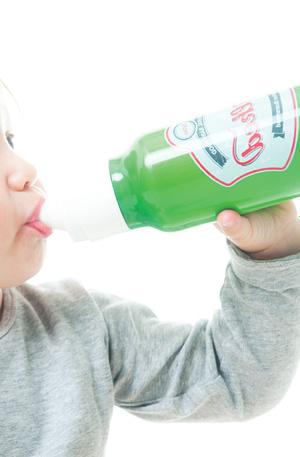 Bierfles Babyfles - Groen - Bitten