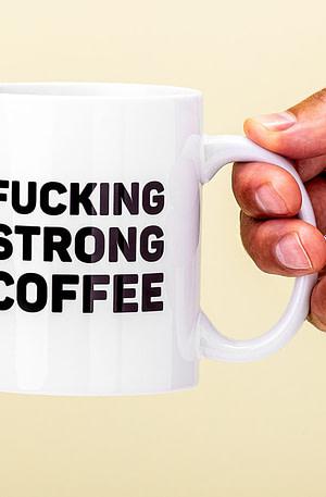 Mok Fucking Strong Coffee - Nutcrackers