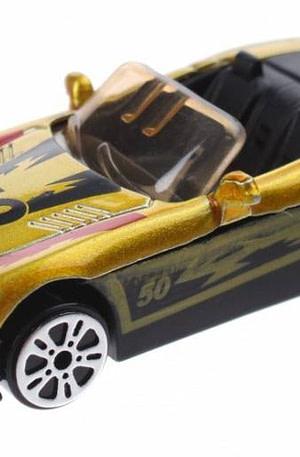 Johntoy schaalmodel Super Cars die cast geel 7 cm